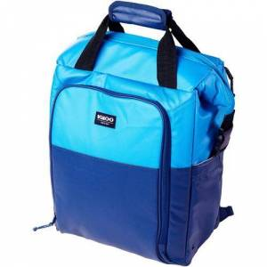 Igloo MaxCold 30 Can Cooler Switch Backpack -Blue