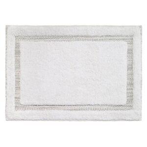 Avanti Tracey Tray Bath Rug -Grey/White
