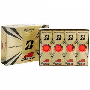 Bridgestone Golf e12 Contact Golf Balls -Red