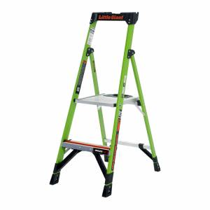 Little Giant Ladder Systems 4' Mightylite Fiberglass Ladder, Type IA