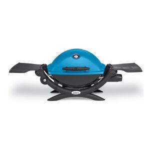 Q 1200 Portable Gas Grill, Blue
