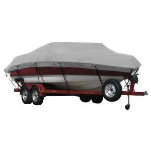 Covermate Exact Fit Covermate Sunbrella Boat Cover for Bayliner Capri 205 Br Capri 205 Bowrider W/Bimini Cutouts Covers Int Platform I/O. Gray