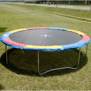 Costway Colorful Safety Round Spring Pad Replacement Cover for 15' Trampoline