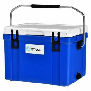26 Quart Portable Cooler with Food Grade Material-Blue