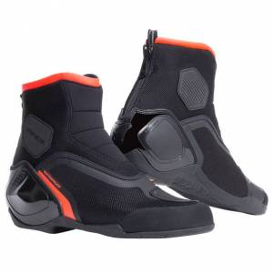 DAINESE DINAMICA D-WP SHOES - BLACK/FLUO-RED - Size: 41