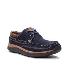 Propet Pomeroy Boat Shoe   Men's   Navy   Size 11   Boat Shoes
