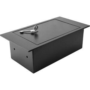 Barska Floor Safe with Key Lock, steel