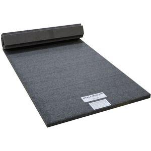 Dollamur FLEXI-Roll 3' x 6' Gymnastics and Cheerleading Stunt Mat, Charcoal Grey