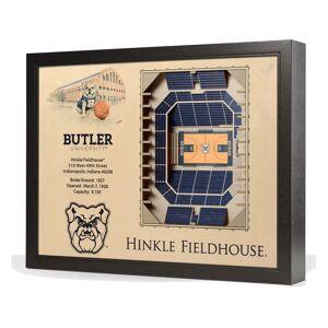YouTheFan You the Fan Butler Bulldogs 25-Layer StadiumViews 3D Wall Art