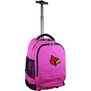 Mojo Licensing Mojo Louisville Cardinals Wheeled Premium Pink Backpack