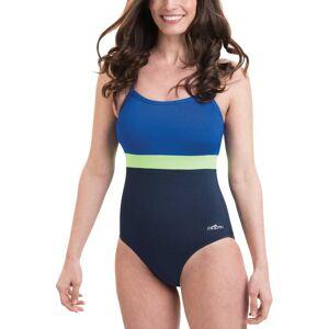 Dolfin Women's Aquashape Colorblock X-Back Swimsuit, Size 14, Blue