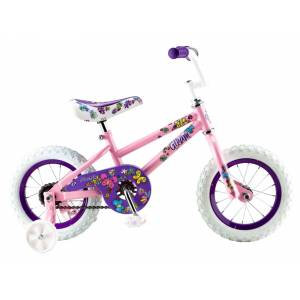 Pacific Cycle Pacific Girls' Gleam 12'' Bike, 12 IN., Pink