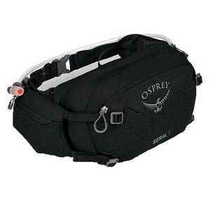 Osprey Seral 7 Bike Hydration Waist Pack, Women's, Black
