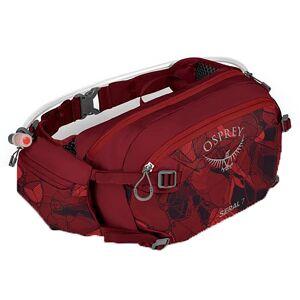 Osprey Seral 7 Bike Hydration Waist Pack, Women's, Claret Red