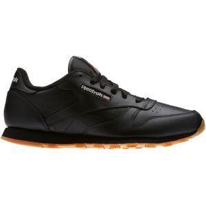 Reebok Kids' Grade School Classic Leather Shoes, Boys', Black