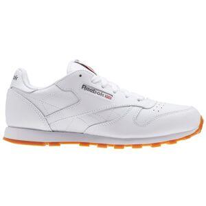 Reebok Kids' Grade School Classic Leather Shoes, Boys', White