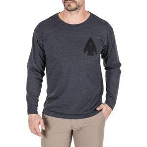 5.11 Tactical Men's Spartan Arrowhead Long Sleeve T-Shirt, XXL, Charcoal Heather