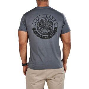 5.11 Tactical Men's Mongoose VS Cobra T-Shirt, Small, Charcoal