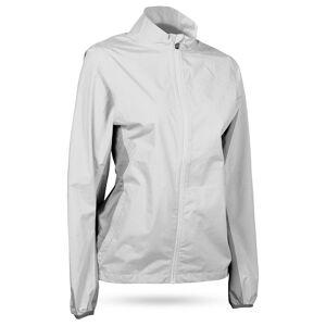 Sun Mountain Women's Monsoon Golf Jacket, Medium, White