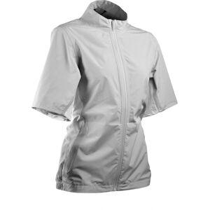 Sun Mountain Women's Monsoon Short Sleeve Golf Jacket, Small, Gray