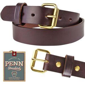 """Penn Standard Penn Std Belt The Deputy-1.25"""" Brown (46:Fits 42)"""