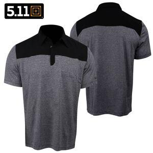 5.11 Tactical Rapid S/S Polo (L)- Black