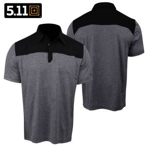 5.11 Tactical Rapid S/S Polo (M)- Black