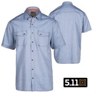 5.11 Tactical Herringbone S/S Shirt (S)- Atlas Herringbone
