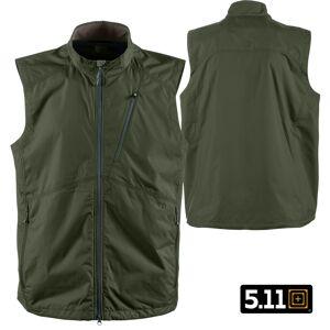 5.11 Tactical Cascadia Windbreaker Vest (S)- TDU Green
