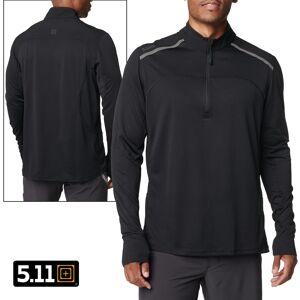 5.11 Tactical Max Effort 1/4 Zip Pullover (XS)- Black