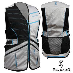 Browning WMNS Ace Shooting Vest (M)- Black/Teal