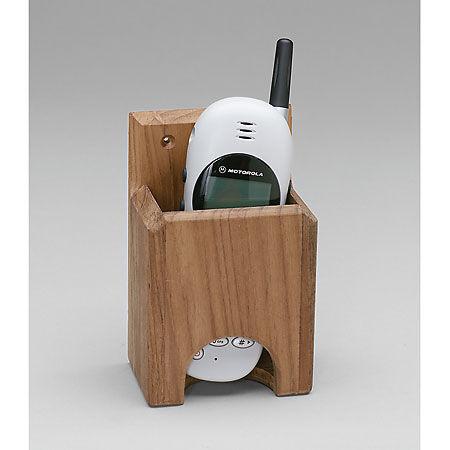 SeaForce Teak Whitecap Teak Cell Phone Rack