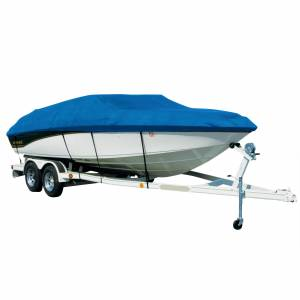 Covermate Sharkskin Plus Exact-Fit Cover for Caribe Inflatables C-9/C-9X C-9/C-9X O/B. Blue