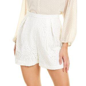 ML Monique Lhuillier Lace Short - Size: 16