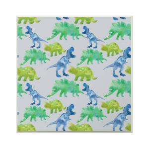 """Stupell The Kids Room by Stupell Green & Blue Watercolor - Size: 12"""" x 12"""""""