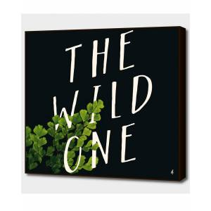 """Curioos The Wild One - Size: 20"""" x 20"""""""