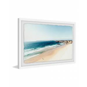 """Marmont Hill As Far as the Eye Can Sea Framed Painting Print by Morgan Hartley - Size: 45"""" x 30"""""""