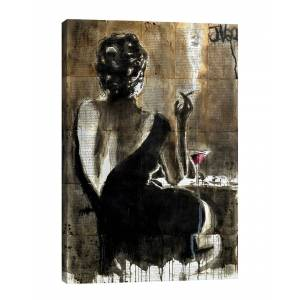 iCanvas Cocktail By Loui Jover - Size: 18 x 26
