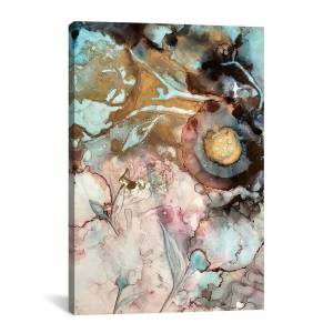 "iCanvas Garden Abstract I by Mishel Schwartz - Size: 18"" x 26"""