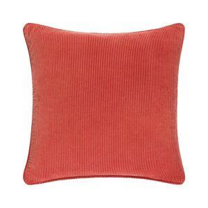 "Surya Corduroy Down Pillow Kit - Burnt Orange - Size: 20"" x 20"""