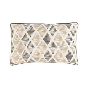 "Surya Jahari Polyester Pillow - Cream - Size: 14"" x 22"""