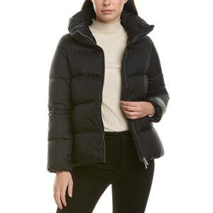 add Short Down Jacket - Black - Size: 44