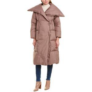 ADD Puffer Down Wrap Coat - Grey - Size: 42