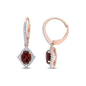 Rina Limor 10K Rose Gold 2.23 ct. tw. Diamond & Gemstone Earrings