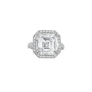 Diana M. Fine Jewelry Platinum 8.67 ct. tw. Diamond Ring - Size: 6