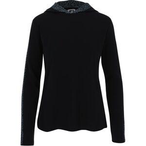 FootJoy Spot Print Trim Hoodie Previous Season Apparel Style Women's Outerwear S Black