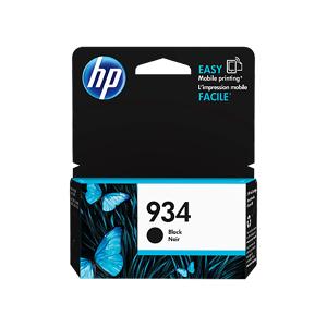 HP 934 Black Original Ink Cartridge, C2P19AN#140 -