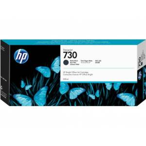 730 300-ml Matte Black DesignJet Ink Cartridge, P2V71A -