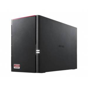 Buffalo LinkStation 520 2TB Personal Cloud Storage with Hard Drives Included LS520DN0202 -