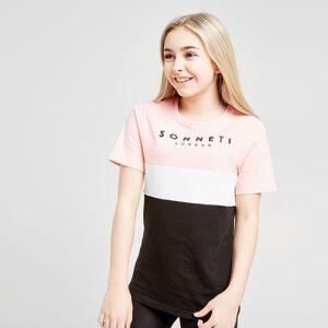 Sonneti Girls' Boyfriend T-Shirt Junior - Kids - PINK/Black